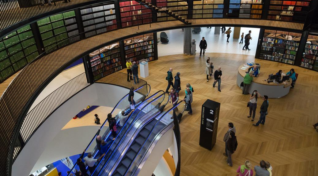 Wayfinding Library of Birmingham